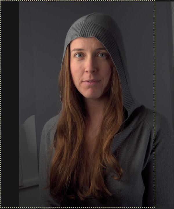 Mairi GIMP background shift masked