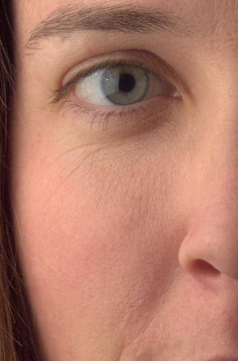 GIMP Mairi wavelet residual eyes