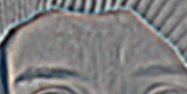 GIMP Wavelet Scale 5 forehead