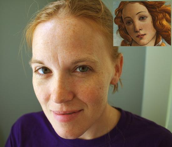 Dot Botticelli Birth of Venus