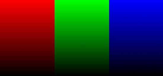 RGB Base Gradient Image