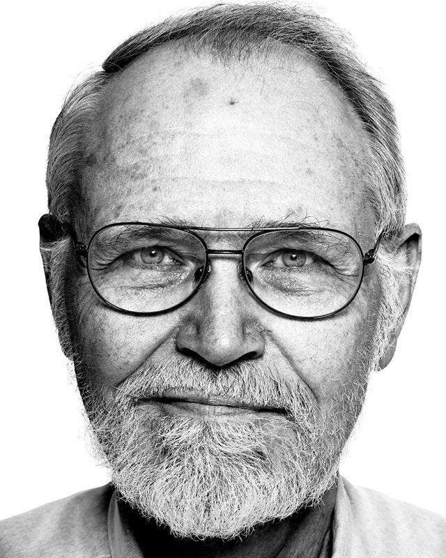 Brian Kernighan by Peter Adams