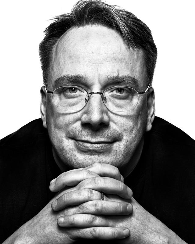 Linus Torvalds by Peter Adams