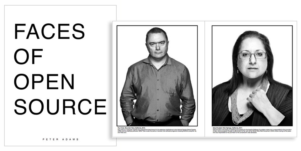 Faces of Open Source Book Promo