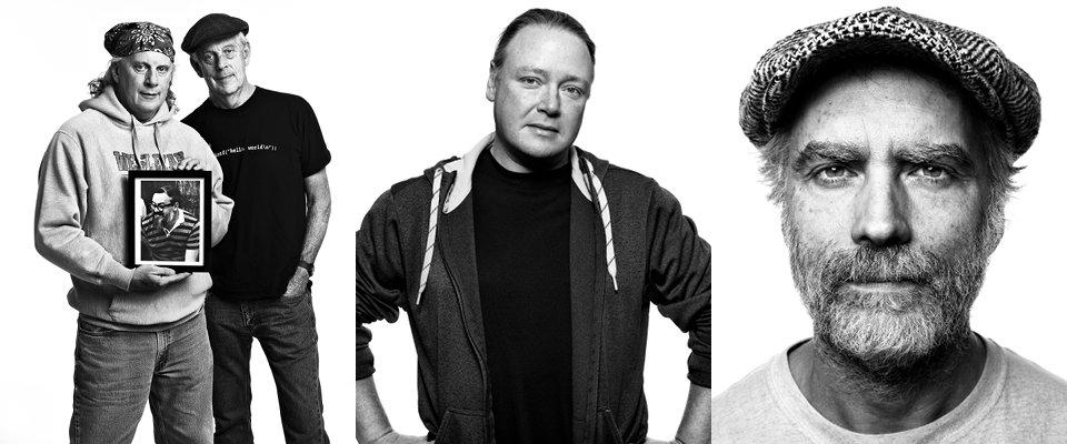 Dennis Ritchie, Brian Behlendorf, Jim Kent