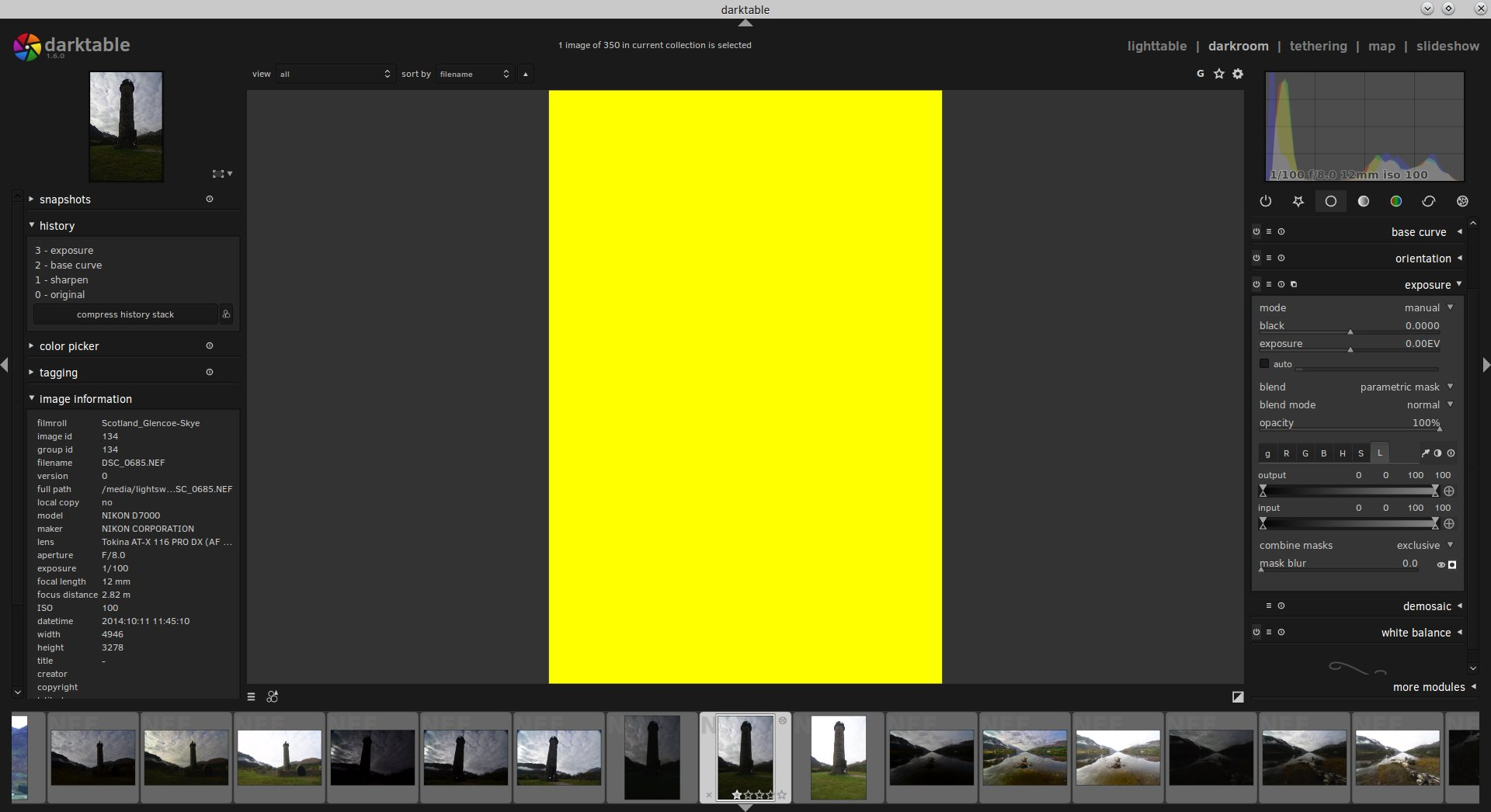 Ian Hex darktable luminosity mask tutorial