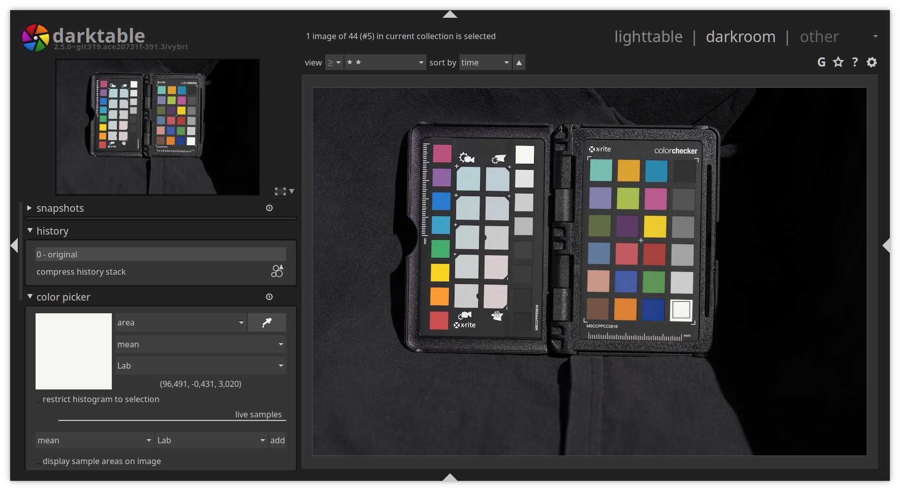 PIXLS US - Profiling a camera with darktable-chart