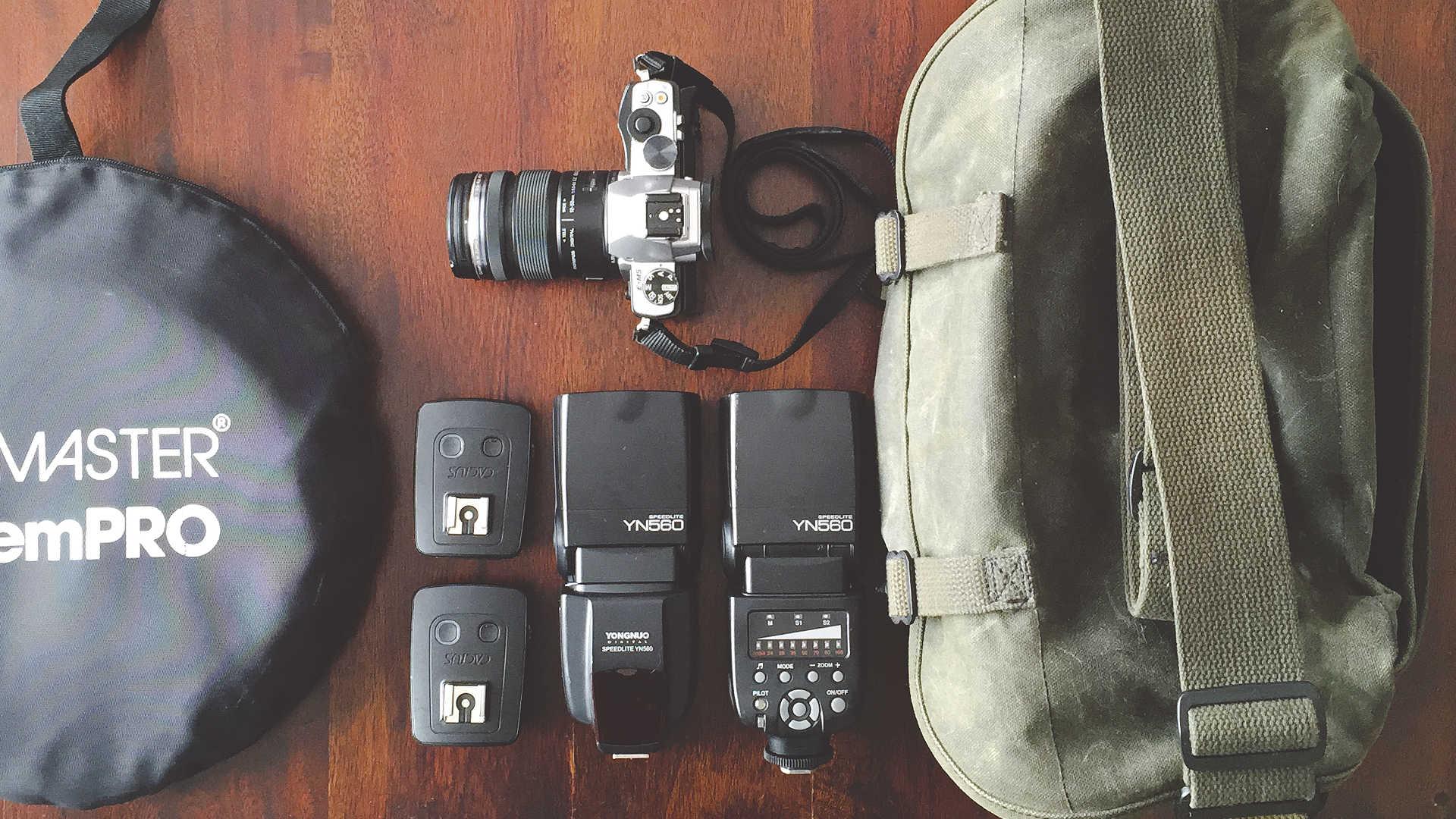 Pat David Camera Bag Gear