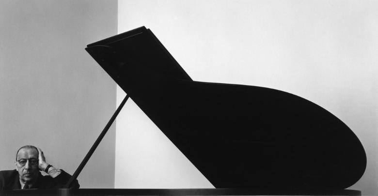 Igor Stravinsky, New York, NY, 1946 by Arnold Newman