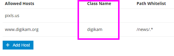 Discourse embed class name