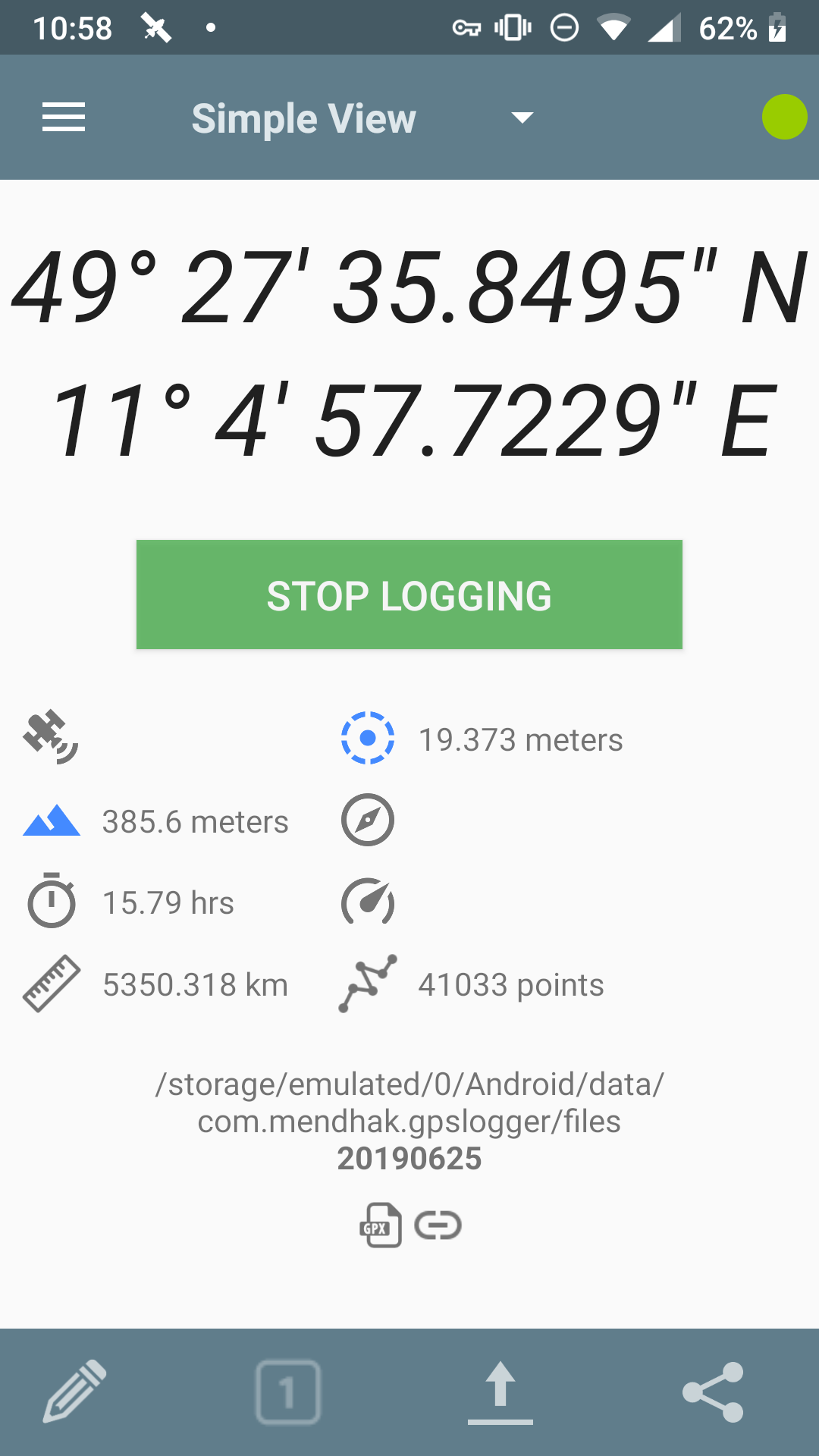 GPS TRacker for Android in all its bare-bone beauty